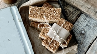 Multi-Seeded Energy Bars - Celebrated food blogger Nessa Robins shares her delicious recipes for the Flora Women's Mini Marathon