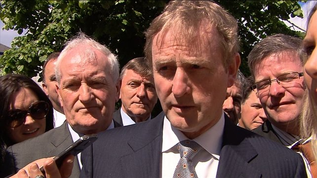 Mr Kenny said if the economy continues to grow and strengthen any flexibility will of course be shown