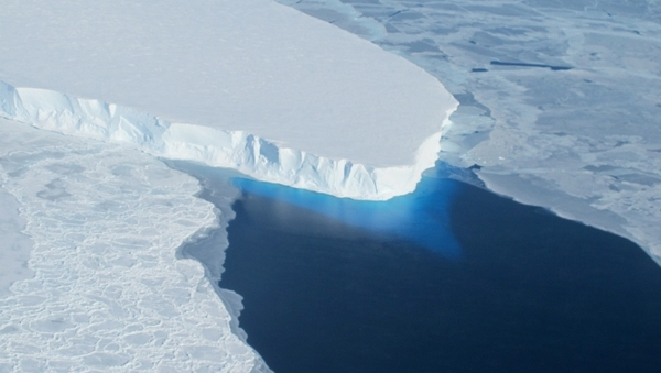 Scientists say the thinning of the ice is likely to be related to global warming