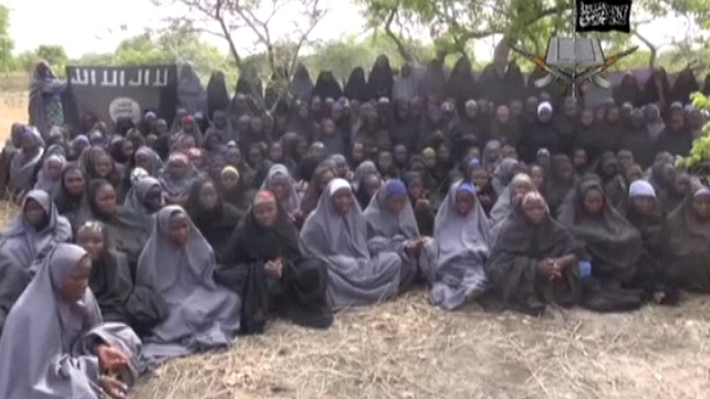 The schoolgirls were kidnapped from a secondary school in Chibok last month