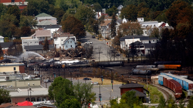 The explosion in Lac-Megantic in July killed 47 people