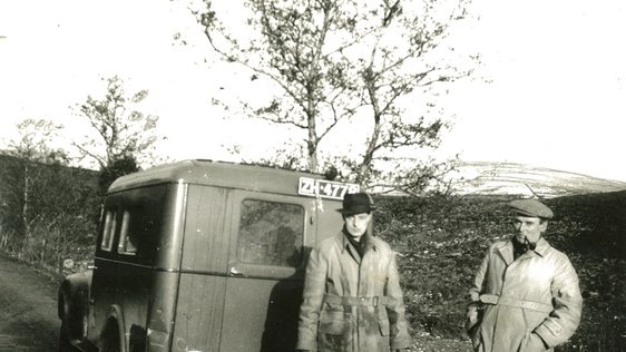 Mobile Recording Unit in Sperrin Mountains, Tyrone (1951)
