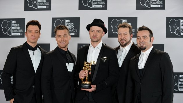 N Sync reunited briefly during Timberlake's performance at the MTV Video Music Awards last year