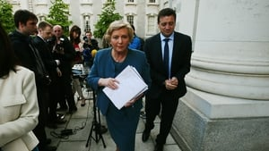 Frances Fitzgerald took on the role of Minister for Justice after Alan Shatter's resignation last week