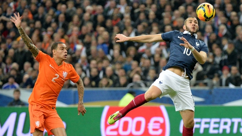 Gregory van der Wiel will not take part in the World Cup this summer