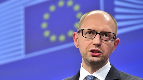 Arseny Yatsenyuk said they will talk to all those who do not shoot and do not kill citizens
