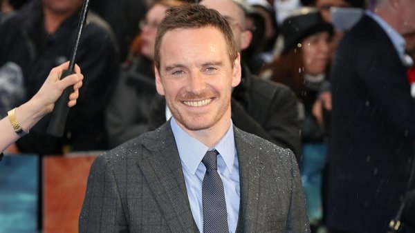 Fassbender reportedly parties till 4am with Bradley Cooper at Glastonbury on Saturday night