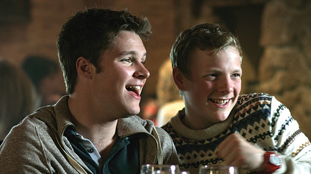 Gibson (right) - Starred opposite Jack Reynor in What Richard Did
