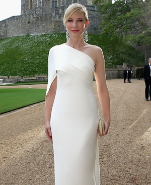 Cate Blanchett was a vision in white