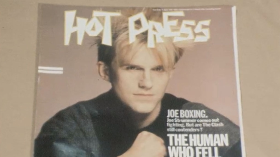 Howard Jones on the cover of Hot Press