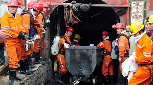 China has the worst mine safety record, with thousands of miners dying since 1990