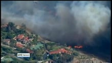 20,000 homes in path of Californian wildfire