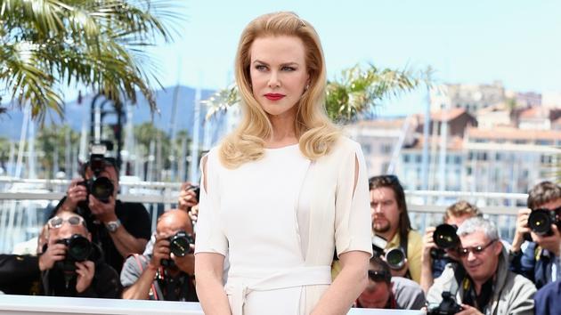 Nicole Kidman in Cannes today