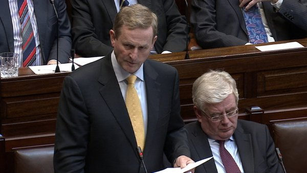 Enda Kenny said lessons had to be learnt so that the issues could never happen again