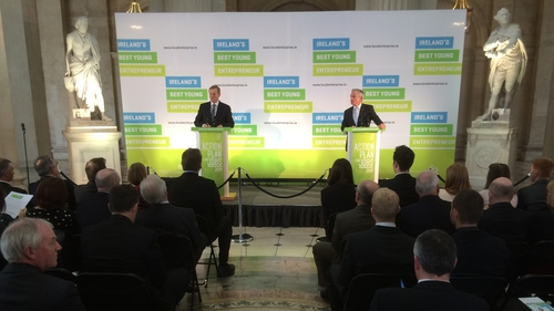 The Taoiseach and the Minister for Jobs launched the contest