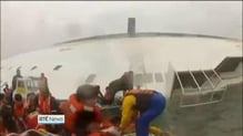 Captain and three crew members of South Korean ferry charged with manslaughter
