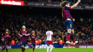 Puyol helped the club win Champions League titles in 2006, 2009 and 2011