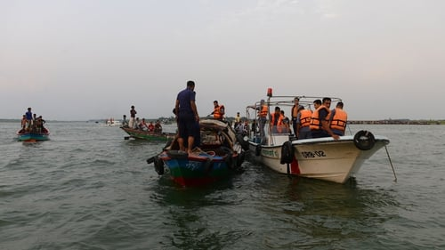 Rescue teams are still searching for bodies in the ferry