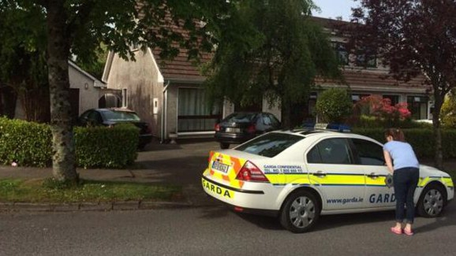 A gang of up to four men attacked the family home of a senior garda in Dungarvan