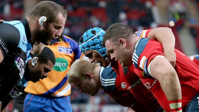 A lot will depend on Munster's performance in the scrum and lineout