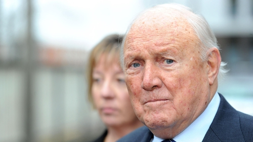 Stuart Hall was found guilty of indecent assault