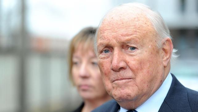 Stuart Hall was found guilty of indecent assault