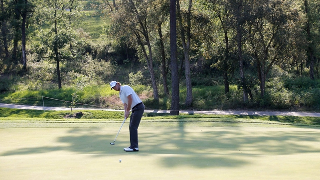 Thomas Pieters birdied five in seven during his round