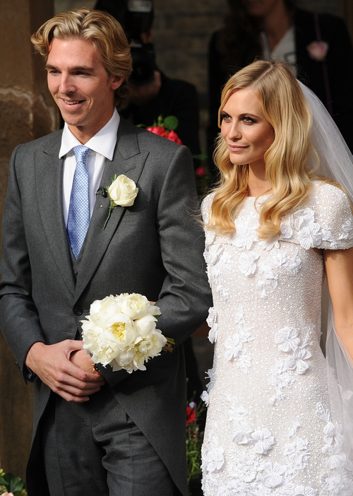 James Cooke and Poppy Delevingne
