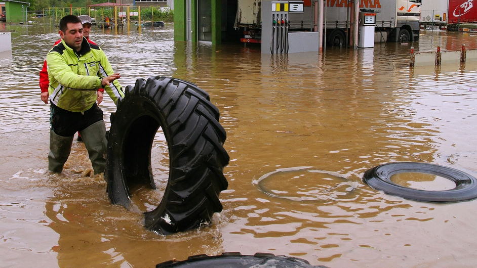 A state of emergency has been declared in Serbia after major flooding hit the country