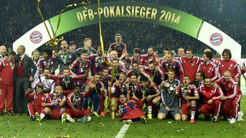 Victory ended a bad run for Bayern who had won the league title with seven games to spare