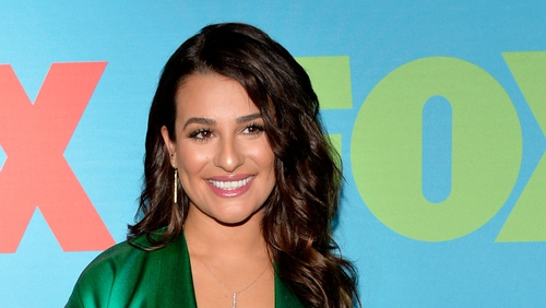 Lea Michele has denied a fight with Glee co-star Naya Rivera