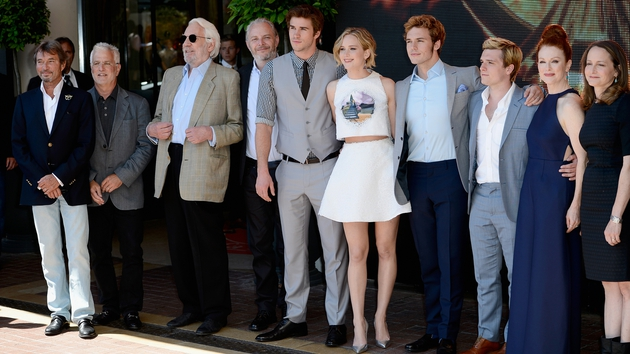 The cast of The Hunger Games: Mockingjay - Part 1 - Film in cinemas from November 20