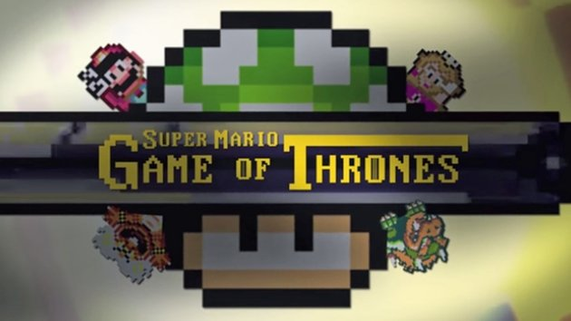 Game of Thrones has been given a Super Mario make-over