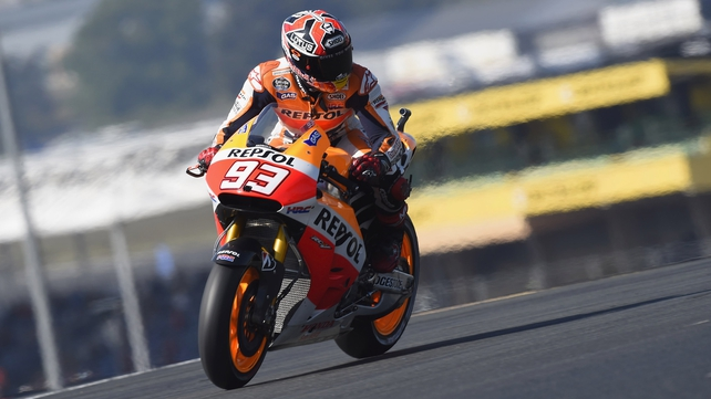 Marc Marquez is five from five in the 2014 MotoGP season so far