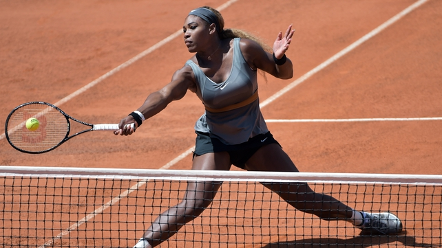 Serena Williams crushed Sara Errani