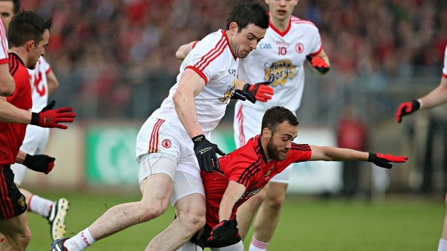 Colm O'Rourke predicted that Tyrone would react to last week's performance