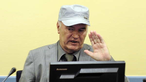 Ratko Mladic faces charges of genocide and crimes against humanity