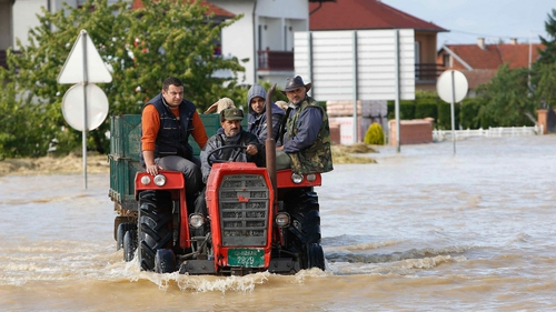 More than 40 people have died in the flooding