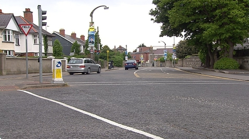 The incident happened in Terenure on Friday afternoon