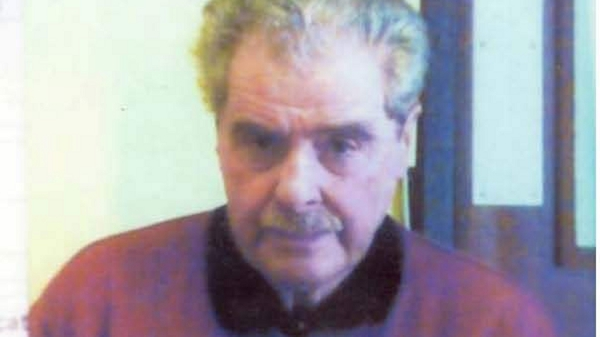George Manson was last seen wearing black trousers and a maroon coloured V-neck jumper