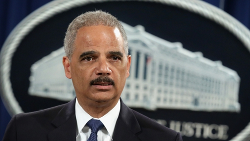 The charges were announced this morning by US Attorney General Eric Holder