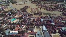 Major floods continuing across the Balkans