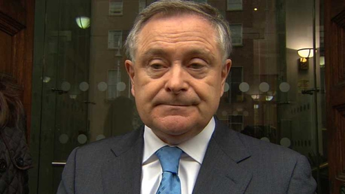 Brendan Howlin said rent allowance cannot chase rent