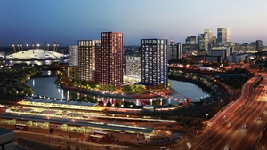 One site Ballymore hopes to develop 'London City Island' near Canary Wharf