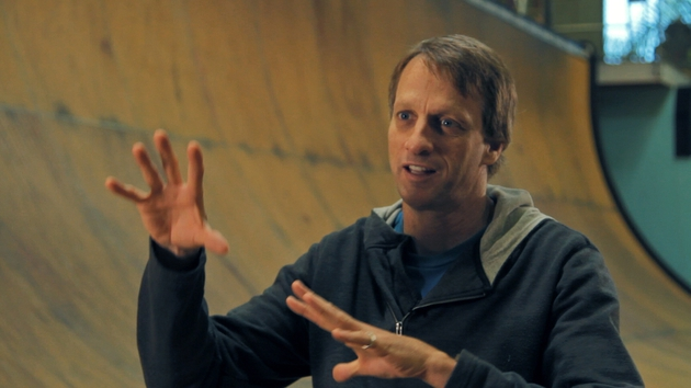 Tony Hawk, renowned American skateboarder, is a contributor in the documentary Hill Street