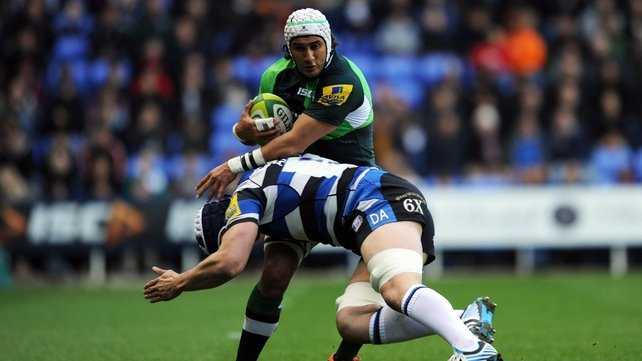 Blair Cowan in action for London Irish