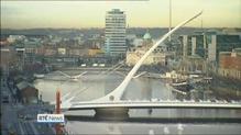The Rosie Hackett Bridge officially opens