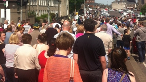 Thousands of people marched through Navan at the weekend to protest at planned changes