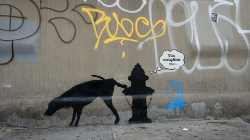 Would the real Bansky please stand up? Actually, we'd rather not know