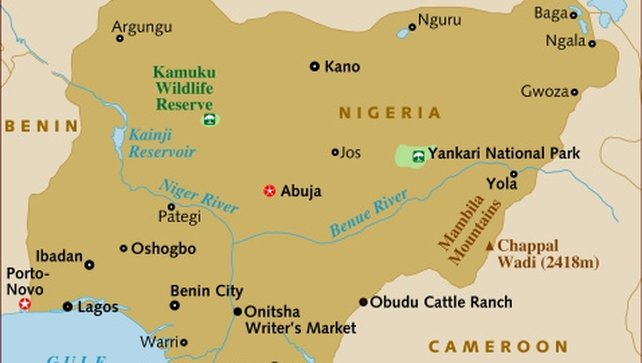 The attack took place at a crowded market in the central Nigerian city of Jos
